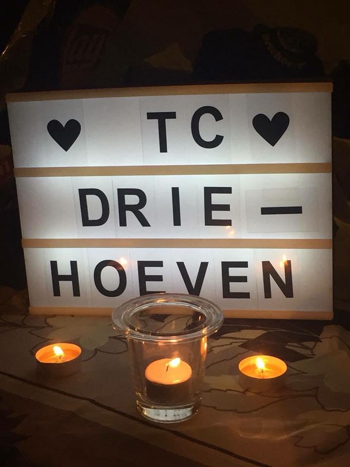 TC Driehoeven - lichtbord